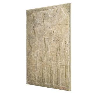 包囲の下の要塞、Nimrudから、イラク キャンバスプリント