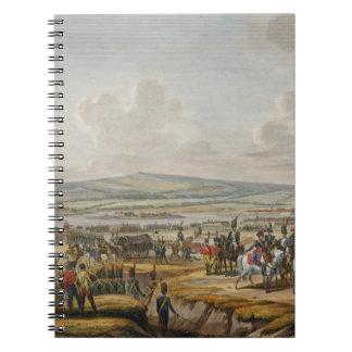 包囲を訪問しているナポレオンはダンチヒで導きました働きます ノートブック