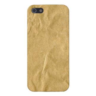 包装紙のバッグ iPhone 5 COVER