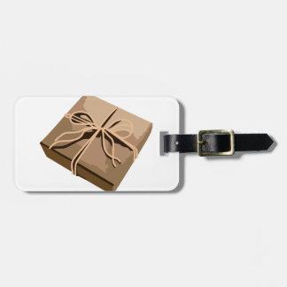 包装紙のパッケージ ラゲッジタグ