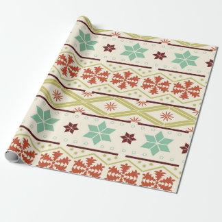 包装紙-醜いクリスマスのセーター ラッピングペーパー