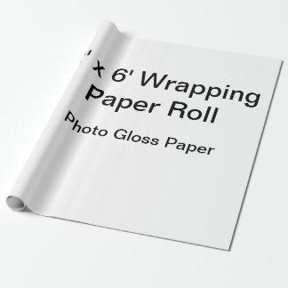 """包装紙(30"""" x 6'ロール、マットの紙) ラッピングペーパー"""
