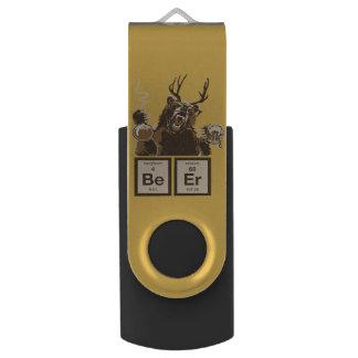 化学くまによって発見されるビール USBフラッシュドライブ