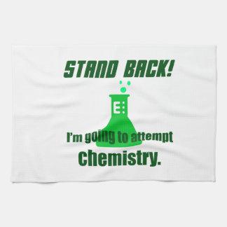 化学の試み キッチンタオル