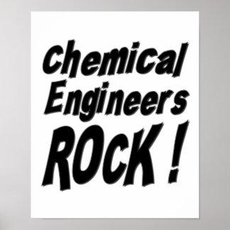 化学エンジニアの石! ポスタープリント ポスター