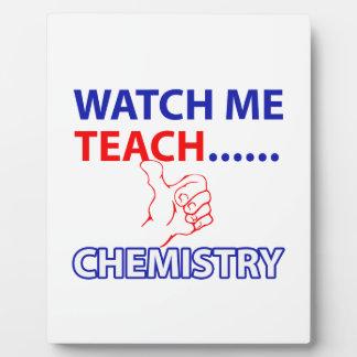 化学デザイン フォトプラーク