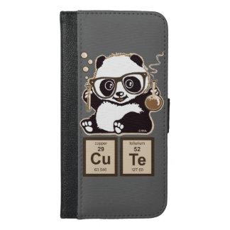 化学パンダによって発見されるかわいい iPhone 6/6S PLUS ウォレットケース