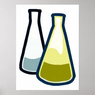 化学ビーカー ポスター