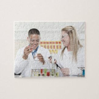 化学レッスン ジグソーパズル