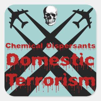 化学分散剤は国内テロリズムです スクエアシール