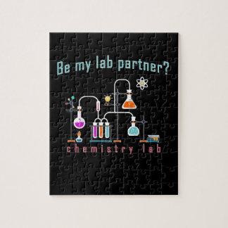 化学実験室 ジグソーパズル