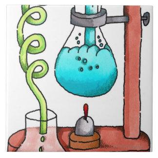 化学実験 タイル
