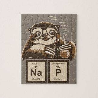化学怠惰によって発見される昼寝 ジグソーパズル