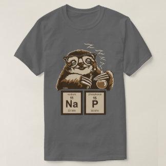 化学怠惰によって発見される昼寝 Tシャツ