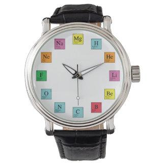 化学時間 腕時計