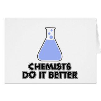 化学者それはよくします カード