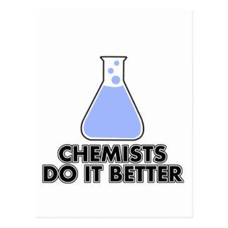 化学者それはよくします ポストカード