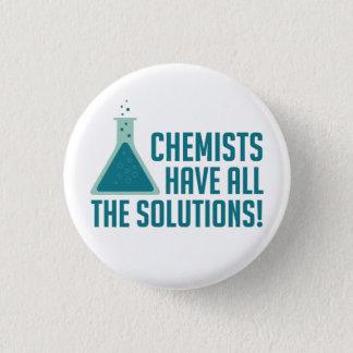 化学者にすべての解決があります 缶バッジ