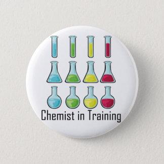 化学者学生化学子供 5.7CM 丸型バッジ