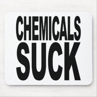 化学薬品は吸います マウスパッド