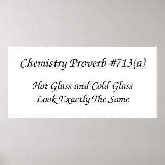 化学諺ポスター ポスター