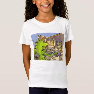 化石のハンター Tシャツ