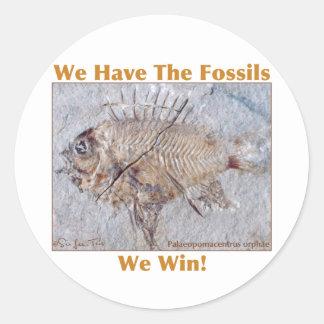 化石の勝利 ラウンドシール