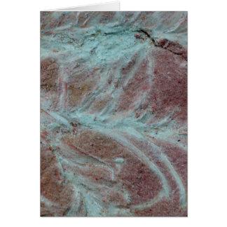 化石の植物 カード