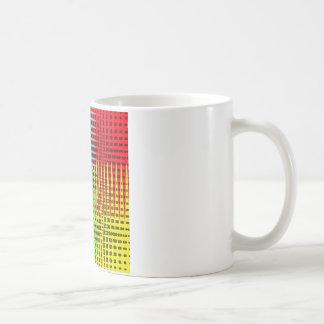 化石の波 コーヒーマグカップ