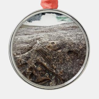 化石の石 メタルオーナメント