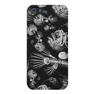 化石化されたチョウチンアンコウのiPhoneの場合-黒 iPhone SE/5/5sケース