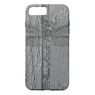 化石化されたトンボのiPhone 7のプラスの場合 iPhone 8 Plus/7 Plusケース