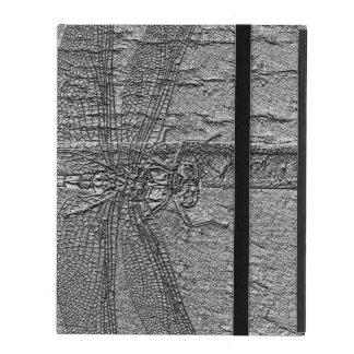 化石化されたトンボ iPad ケース