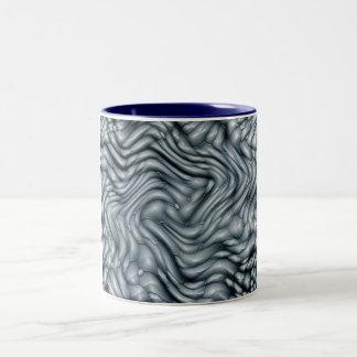 化石化された形 ツートーンマグカップ