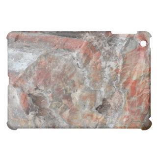 化石木の質 iPad MINI カバー