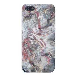 化石木 iPhone SE/5/5sケース