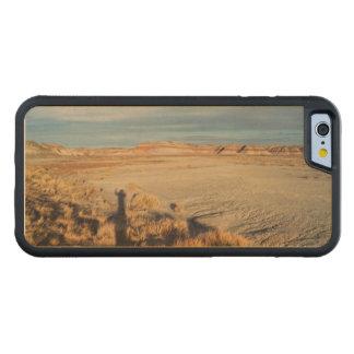 化石森林から振る砂漠の影 CarvedメープルiPhone 6バンパーケース