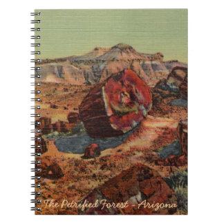 化石森林のノート ノートブック