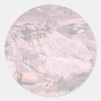 化石森林 ラウンドシール