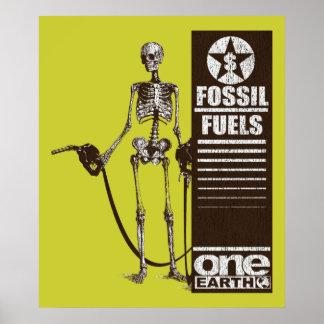 化石燃料 ポスター