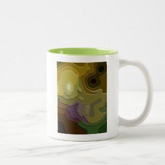 化石 ツートーンマグカップ