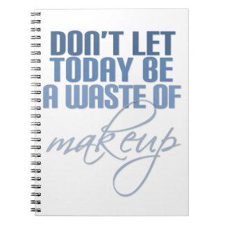化粧の無駄があるために今日割り当てないで下さい ノートブック