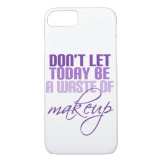 化粧の無駄があるために今日割り当てないで下さい iPhone 7ケース