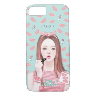 化粧のJennieのiPhone 7の場合 iPhone 8/7ケース