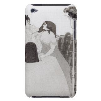 化粧台の女性(インクおよび洗浄) Case-Mate iPod TOUCH ケース