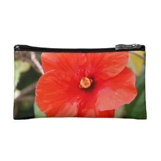 化粧品のバッグ-雑色のハイビスカス コスメティックバッグ