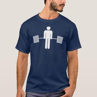 化粧室の男Deadlift Tシャツ