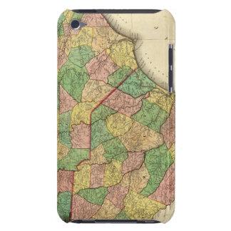 北およびサウスカロライナの地図 Case-Mate iPod TOUCH ケース