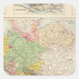 北および中央ドイツ スクエアシール