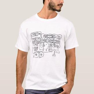 北のくねり Tシャツ